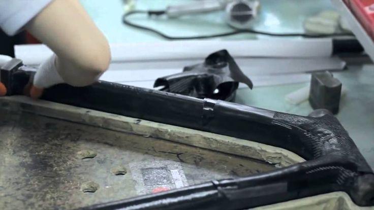 Como se fabrica una bicicleta Giant Composite de Carbono
