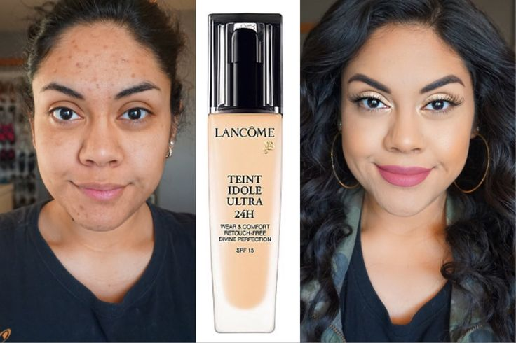 Lancome Teint Idole Ultra 24 Long Wear Foundation Review Oily Skin 2016-08-10