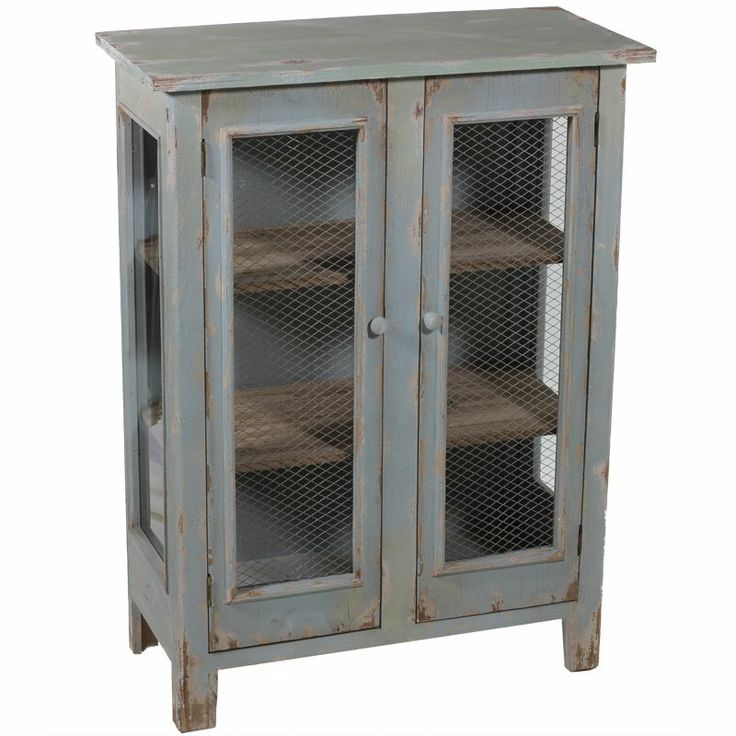 14 best distressed wood wine cabinets storage images on for Wood and metal cabinets