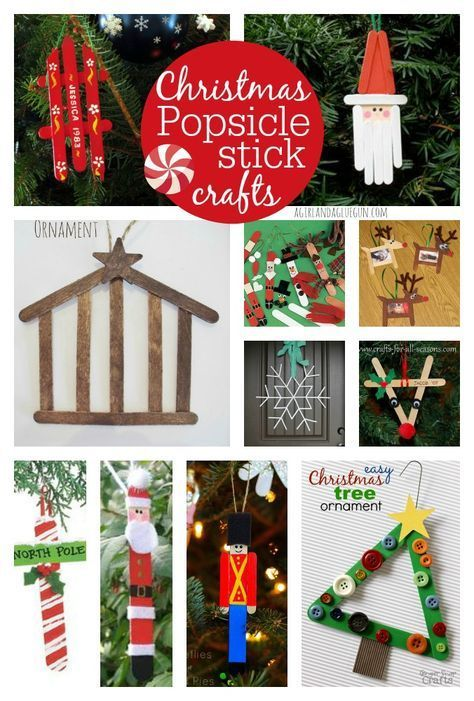 Christmas Crafts To Make With Popsicle Sticks Christmas Lexxi