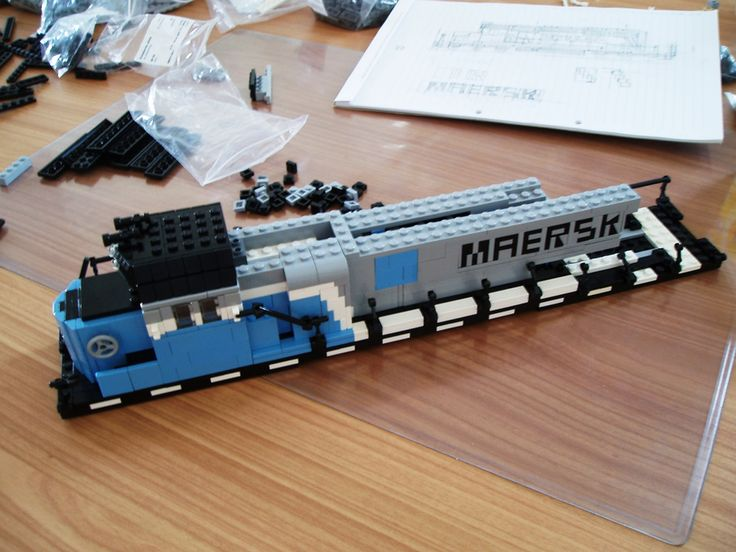 I'm not much of a train lover, but when the first pictures of the Maersk Train set were released a few months ago I immediately liked it. It really is one of the nicest LEGO trains they have ever produced.  Completing my tiller truck has made me think about building my own little US-themed layout, with a firehouse, my diner and all of the American cars I still have left from Bricksboro Beach. I also would love to have a train track on it, much like I do in Brickston Borough. Adding all th...