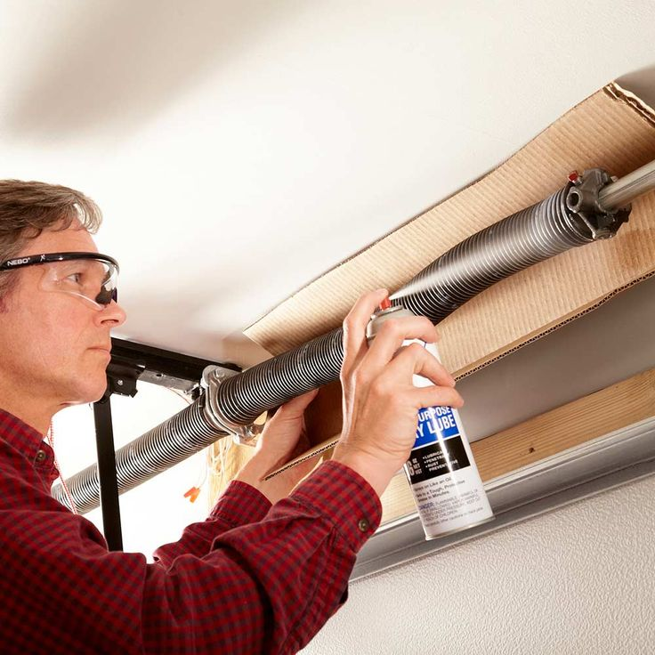 Lube Garage Door Springs or Replace them Sooner Rather than Later - 10 Maintenance Tips That'll Save on Service Fees