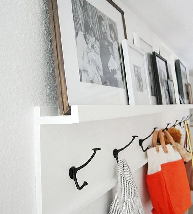 M s de 25 ideas fant sticas sobre percheros de pared en - Fotos de percheros ...