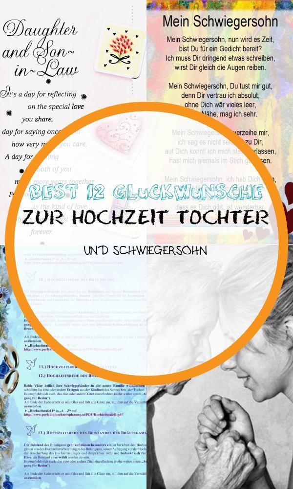 Best 12 Gluckwunsche Zur Hochzeit Tochter Und Schwiegersohn