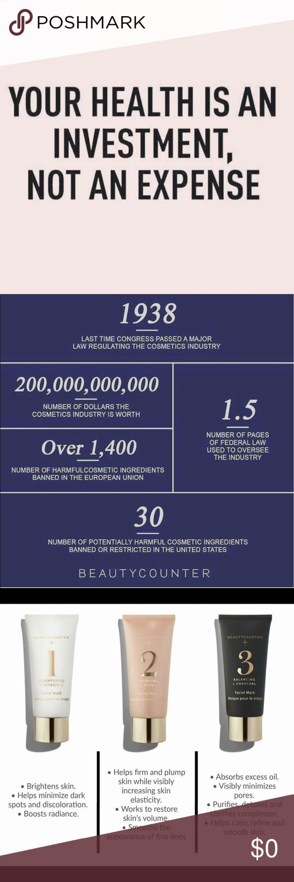 FREE Cosmetic Samples used by Victoria's Secret!! I am a consultant for Beautycounter- a cosmetic line that provides safer products by banning over 1500 different chemicals in their ingredient list (US has only banned 30, UK has banned around 1400). While safety is what separates BeautyCounter from other brands, they do not compromise luxury- they've hired Chanel consultants along the way to help develop their products. Lots of celebrities have joined the movement for safer beauty- see my…