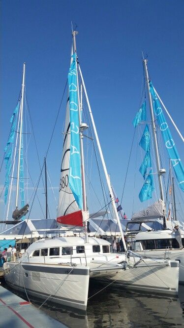 Lagoon 380 Annapolis boat show 2015