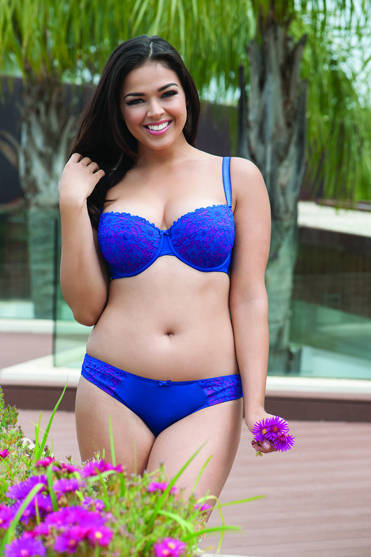 Get Vixen vibes with this gorgeous Curvy Kate set - new colour for 2017!