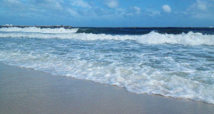 Gulf waves at Perdido Beach Resort in Orange Beach