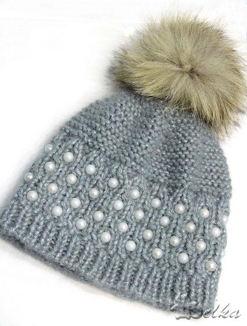 Ravelry: Pearly hat pattern by Tatyana Fedorova - free knitting pattern
