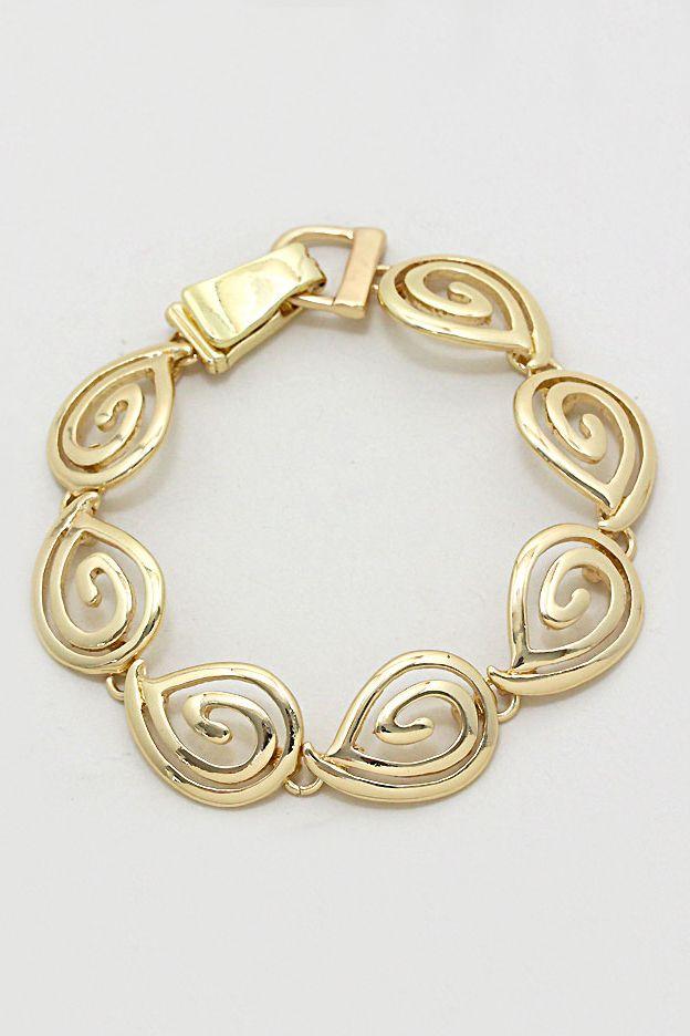Riva Bracelet in Gold