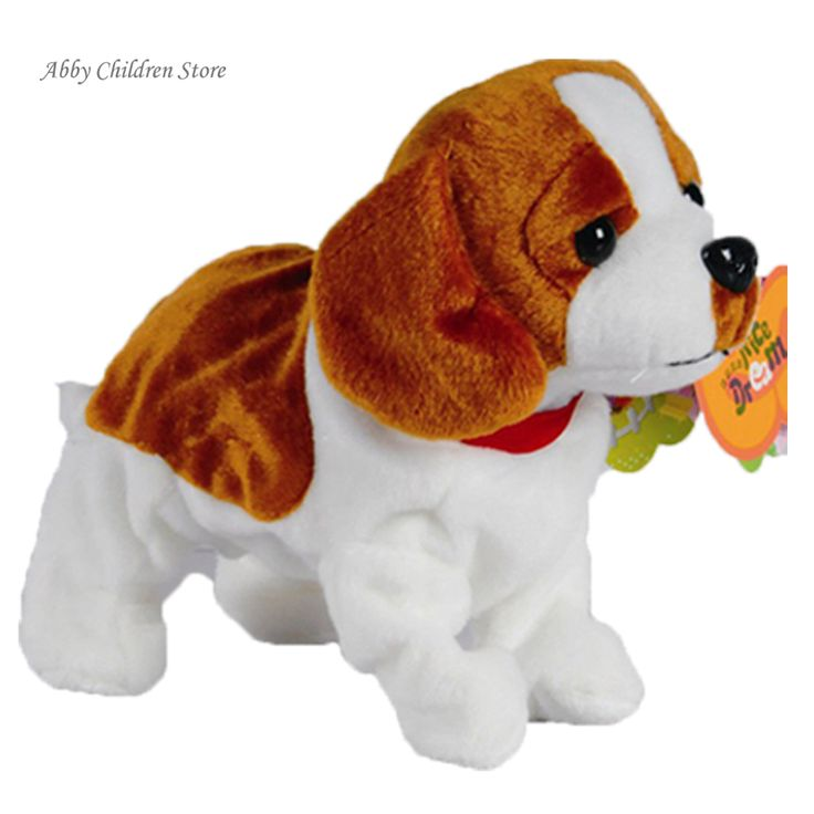 Sound Control Electric Dogs Pets Robot Dog Bark Stand Walk Interactive Electronic Toys Dog Toys For Baby Christmas Gift
