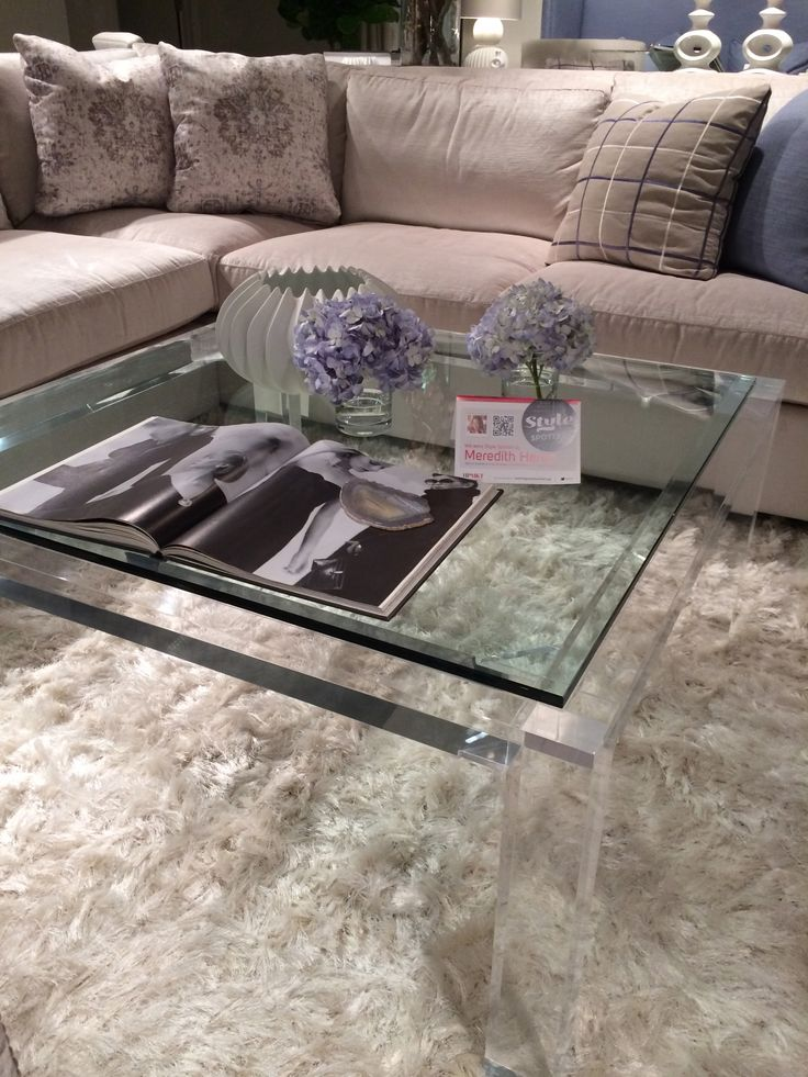 Moderne Coffee Table By Bernhardt Furniture By Meredith Heron For Spring  2014
