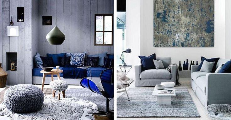Jak we wnętrzach sprawdzi się najzimniejsza ze znanych nam barw? Zobaczcie galerię pomieszczeń, w których kolor niebieski odgrywa wiodącą rolę.