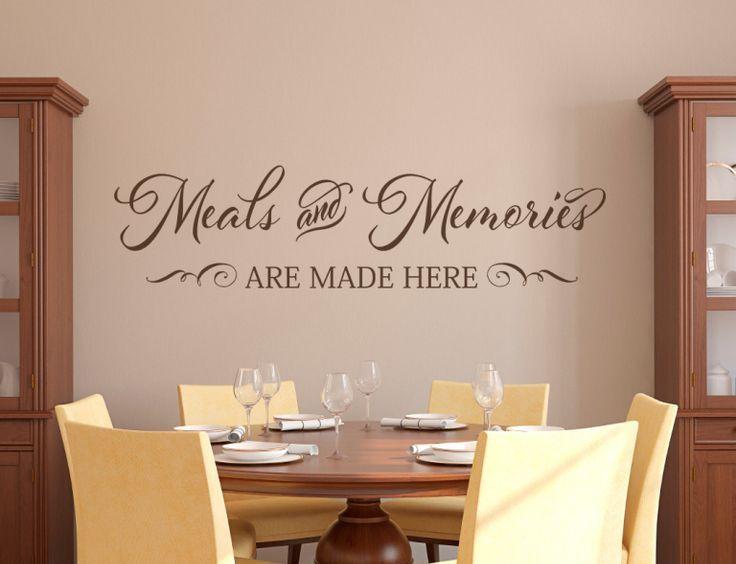 Best 25+ Kitchen vinyl sayings ideas on Pinterest   Wall ...