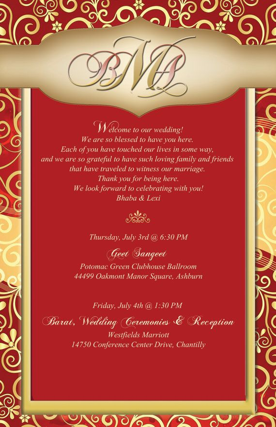indian wedding cards wordings in hindi%0A Indian Inspired Custom Label for Wedding by  WeddingWelcomeBags