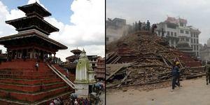 INTERACTIF - Népal, un héritage culturel anéanti par le séisme