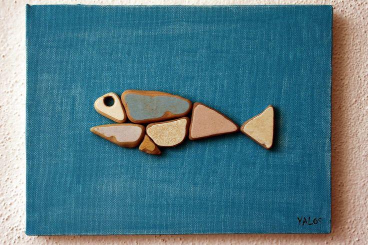 yalos alanya: sea pottery fish, on the blog 29.4.14