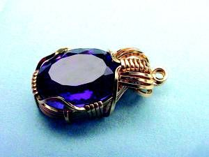 In-depth tutorials for wrapping faceted stones as pendants. This could also be used with raw stones or applied to ring or bracelets!