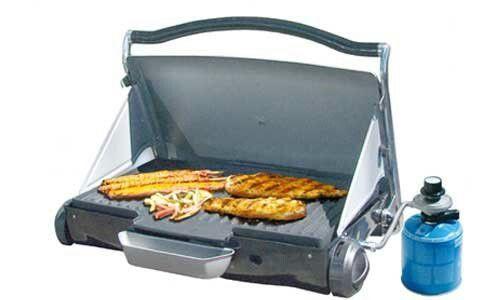 De laptop grill van gazmate.com in de jaren c.a. 2005-2006 maakte deze grill deel uit het assortiment van outdoorchef B.V.