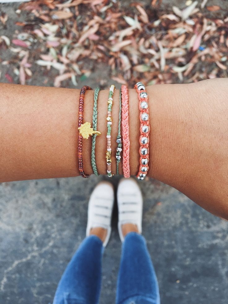 The November monthly club styled with some of our favorite bracelets! xx @chelseybishoff