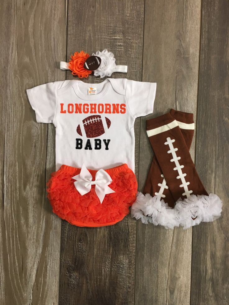 Texas Longhorns baby - Texas Longhorns baby girl - Texas onesie - Longhorns girl shirt - Texas Longhorns baby outfit - Longhorns football by Mylittlerascal on Etsy https://www.etsy.com/listing/478047433/texas-longhorns-baby-texas-longhorns