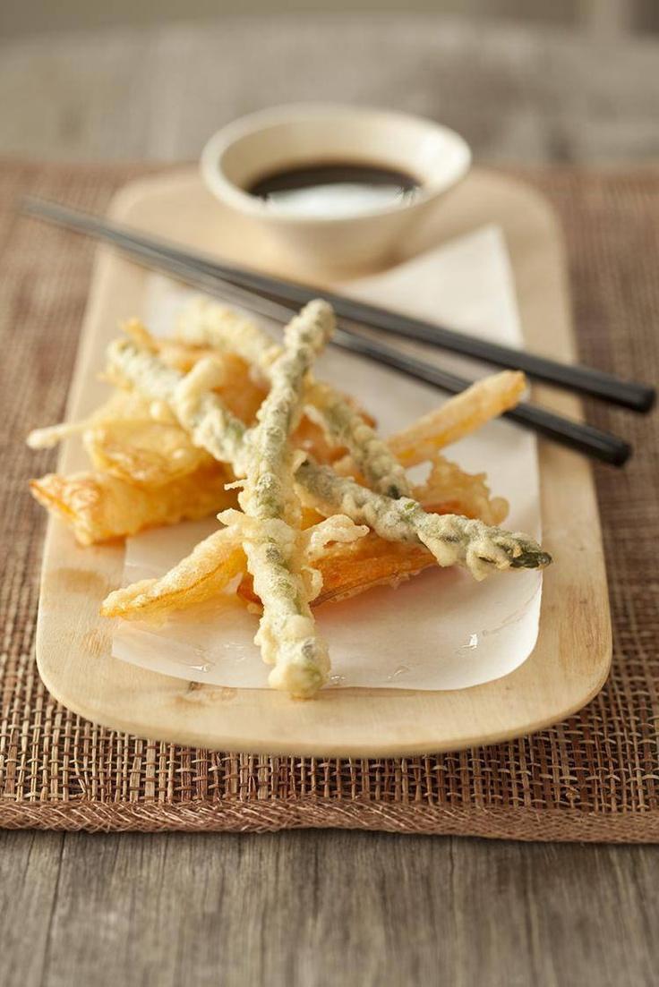 Vegetable tempura.