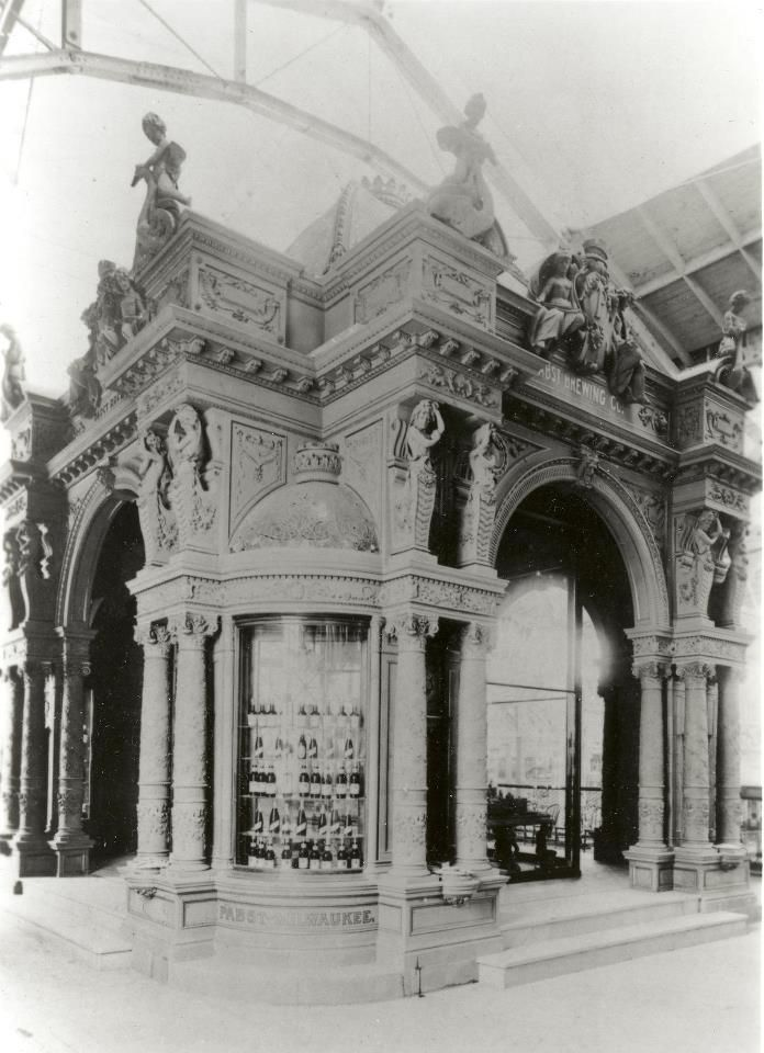 The Pabst Brewing Company pavilion from the 1893 Chicago World's Fair. Just an amazing piece of architecture. (Now located on the East side of the Pabst Mansion.)