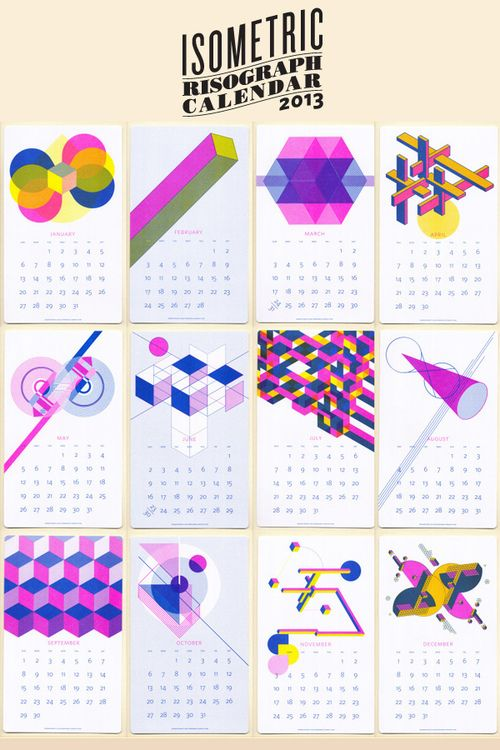 196 best meli-melo images on Pinterest Calendar, 2012 calendar - free isometric paper