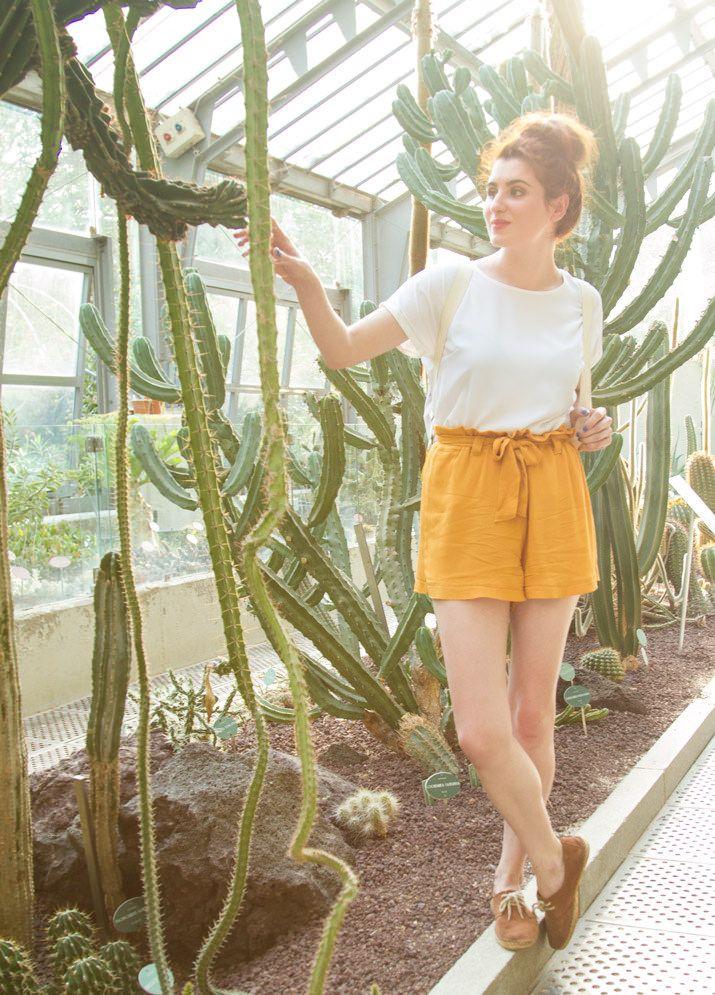 DIY Paper Bag Shorts - FREE Sewing Tutorial