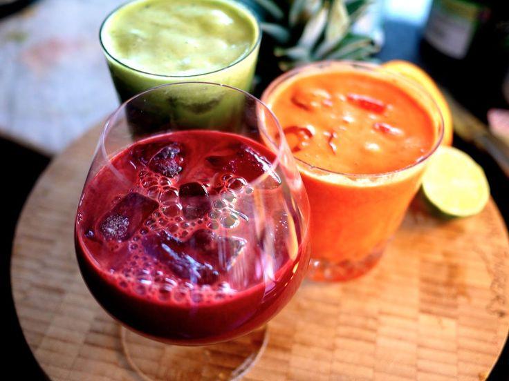 The Londoner: Detox Juice Tricolour