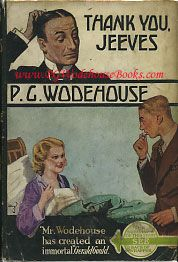 Thank You Jeeves by P G Wodehouse (Dorset)