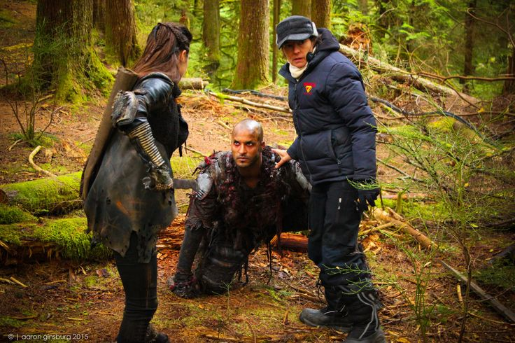 Marie Avgeropoulos & Ricky Whittle