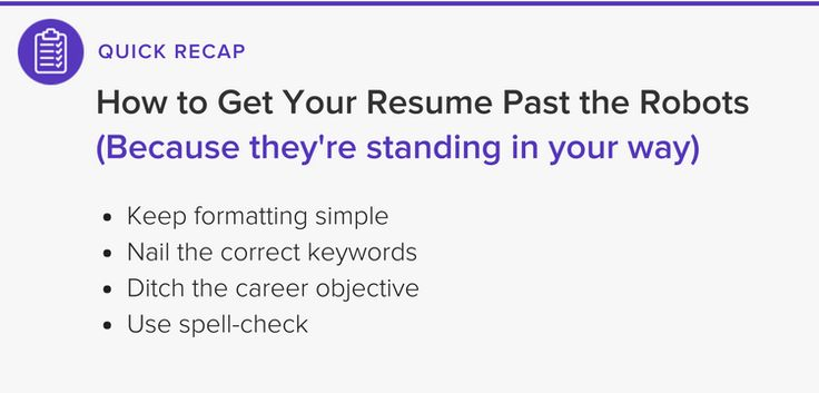 Here's how to beat the robots and get your resume in front of the hiring manager.