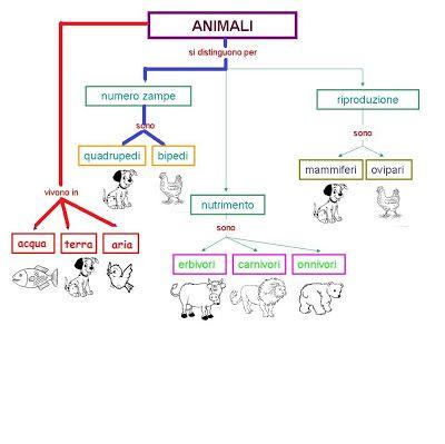 mappa animali