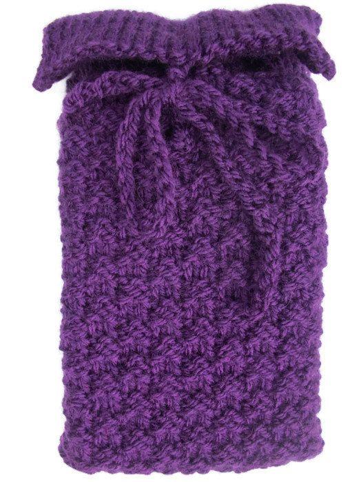Purple tarot card bag Rune pouch crystals by thekittensmittensuk, £11.00