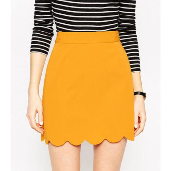 Pastel It To My Heart Skirt ($39) ❤ liked on Polyvore featuring skirts, yellow, pastel skirt, heart skirt, yellow cotton skirt, yellow skirts and orange skirt
