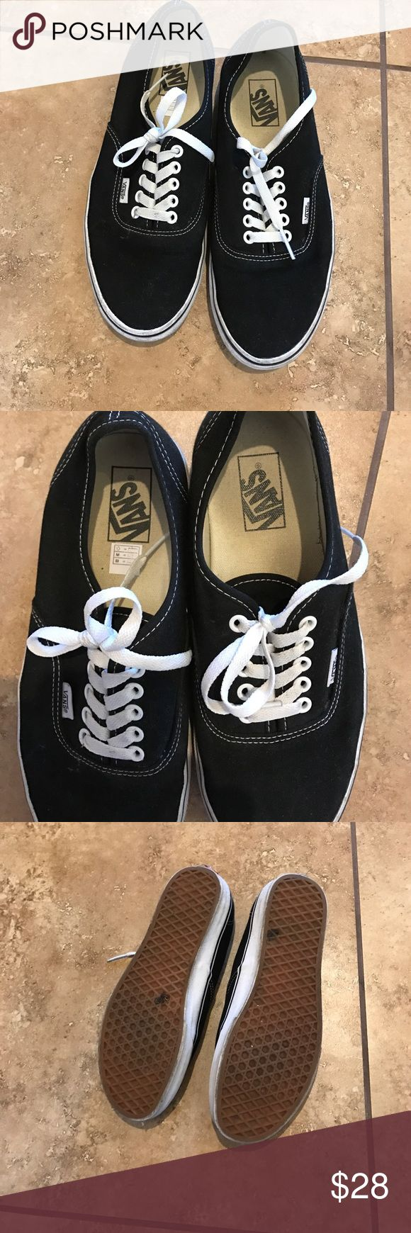 Vans classic black Only worn a few times. In great condition Vans Shoes Sneakers