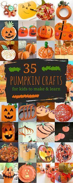 pumpkin crafts for kids 35 pumpkins to make learn - Halloween Decorations For Kids To Make