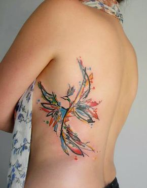 Belagoria: Tatuaje del Ave Fénix, su significado y poder