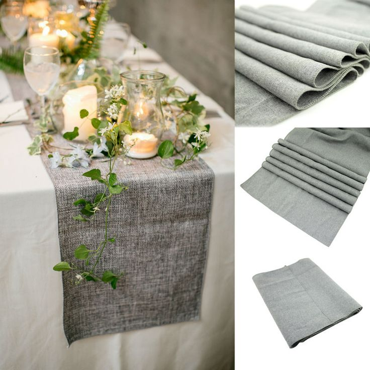 les 25 meilleures id es de la cat gorie nappe en toile de jute sur pinterest tables de mariage. Black Bedroom Furniture Sets. Home Design Ideas