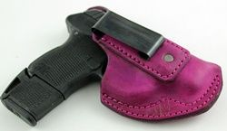 Lots of holsters with women's curves in mind.  They talk about how each holster will be good for different reasons.  LOVE THIS SITE!!!