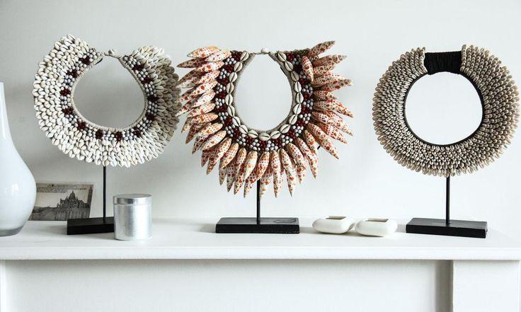 colliers plastron ethnique salon hipanema Delphine Crech'riou