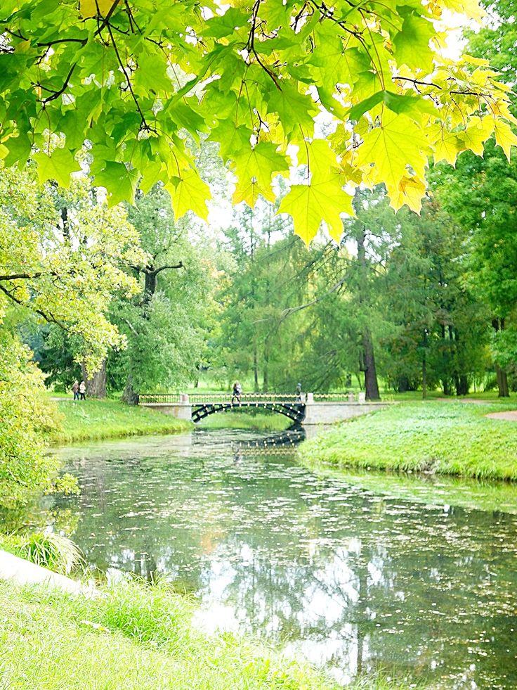 Осенний Екатерининский парк
