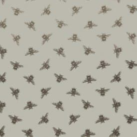 Bees linen oilcloth tablecloth