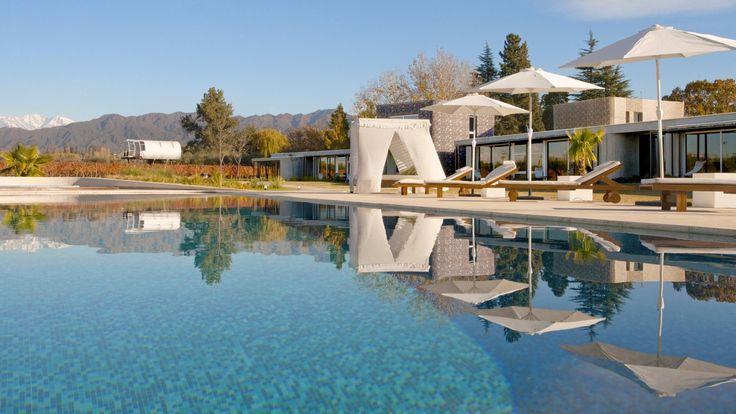 Entre Cielos Luxary Wine Hotel and Spa in Mendoza, Argentina