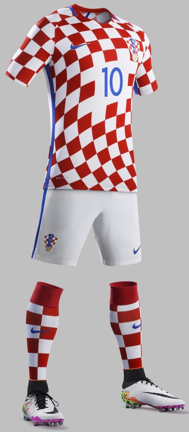 Nike divulga as novas camisas da Croácia - Show de Camisas