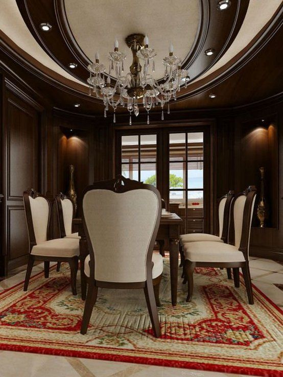 67 Best Extravagant Dining Rooms Images On Pinterest