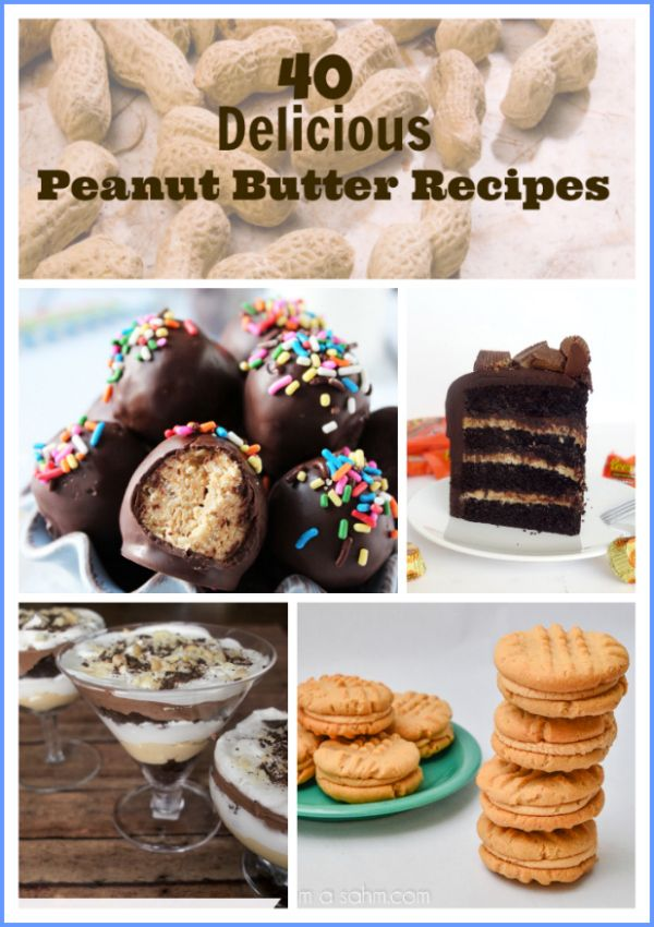 40 Peanut Butter Recipes