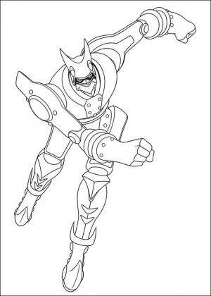 Astro Boy coloring page 4