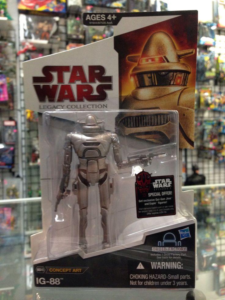 Hasbro Star Wars Legacy Collection Concept IG-88